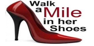 Walk a Mile in Her Shoes Event!