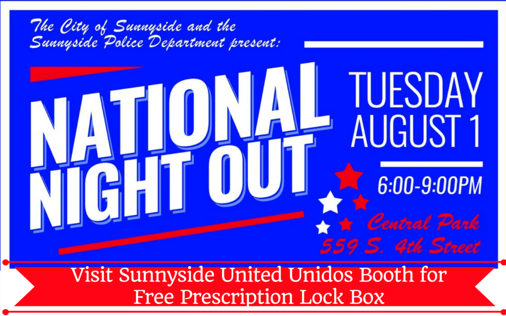 National Night Out Lock Box Giveaway